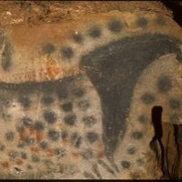 Chevaux et main de la grotte du Pech-Merle - © PNRCQ