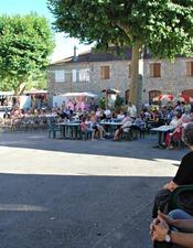 Photo fête votive Teyssieu