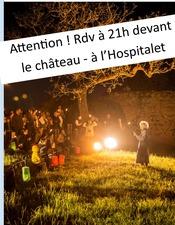 Rdv au chateau visite contée Roca