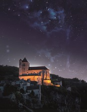 Saint-Cirq Lapopie by night