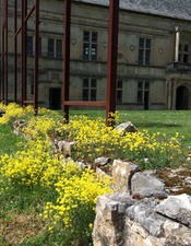 château assier jardin
