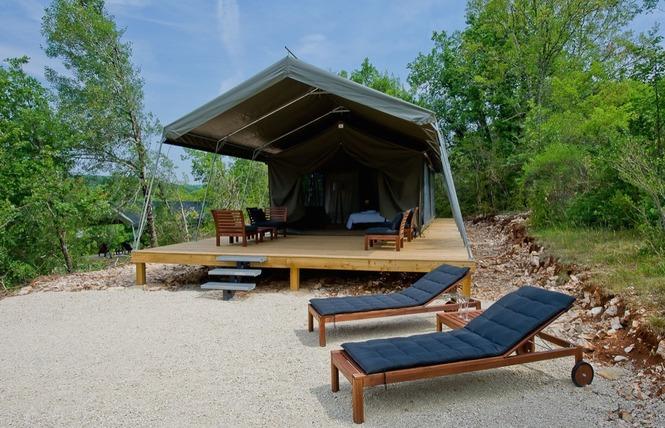 Camping Aux Lodges du Mas de Nadal 10 - Sauliac-sur-Célé